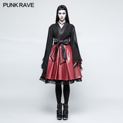 Punk Rave Lolita Long Sleeve Kimono Dress LQ-079