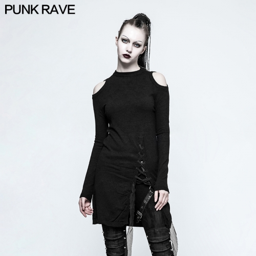 PUNK RAVE Knit Acrylic Female Sweater OPM-042