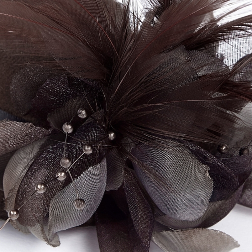 Punk Rave  mini hat style  hair decoration feather hairpin WS-244