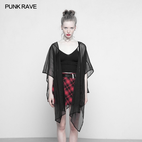 PUNK RAVE Chiffon multi-use shawl suntan-proof wear OPY-318