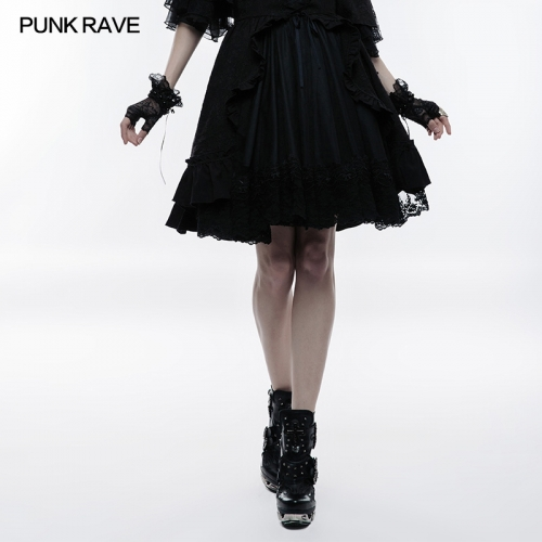 PUNK RAVE Lolita  Versatile  Bubble Skirt WLQ-082