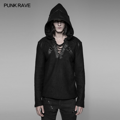 PUNK RAVE Punk Men Pullovers Sweater WM-044