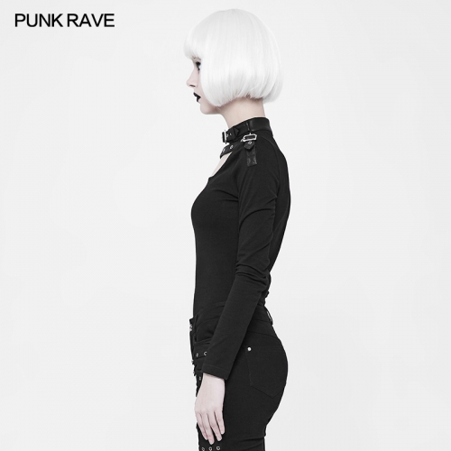 PUNK RAVE Long Sleeve sexy fancy ladies blouses WT-518
