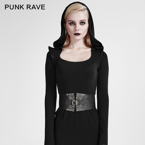 PUNK RAVE gothic pattern woman girdle S-183