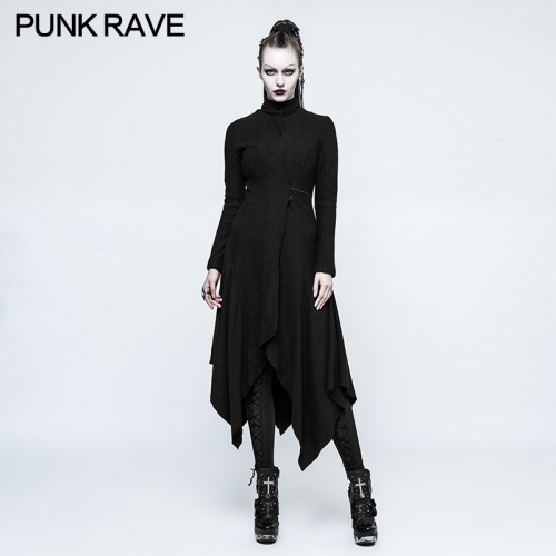 PUNK RAVE  Gothic Witch Asymmetry Jacket OPY-217