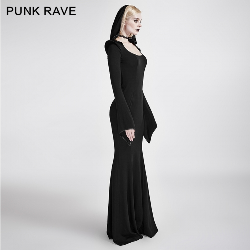 PUNK RAVE Gothic  Party Evening DressQ-296