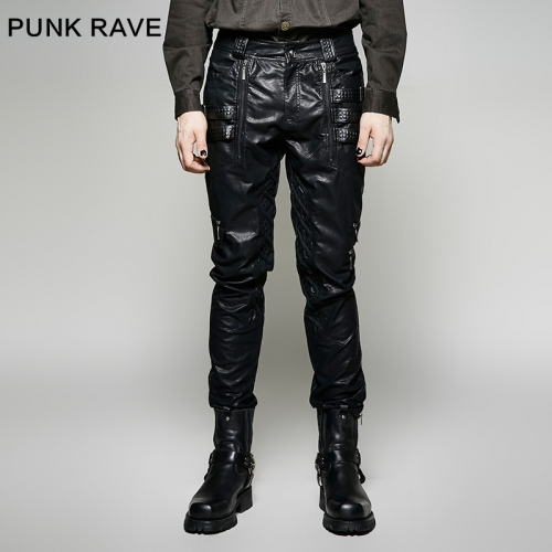 PUNK RAVE  men  trousers  pants  K-266
