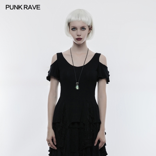 PUNK RAVE gothic women short t-shirt OT-499TDF