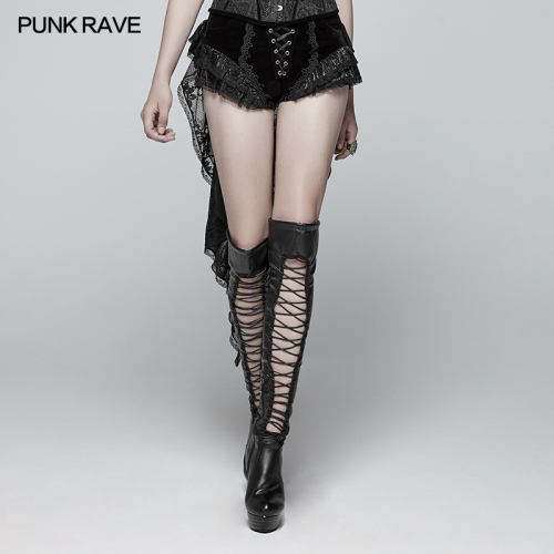 PUNK RAVE gothic women shorts pants WK-354XDF
