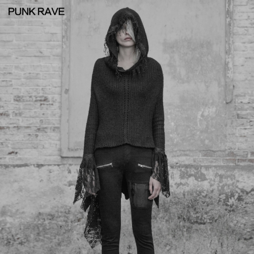 PUNK RAVE gothic women sweater WM-043TMF