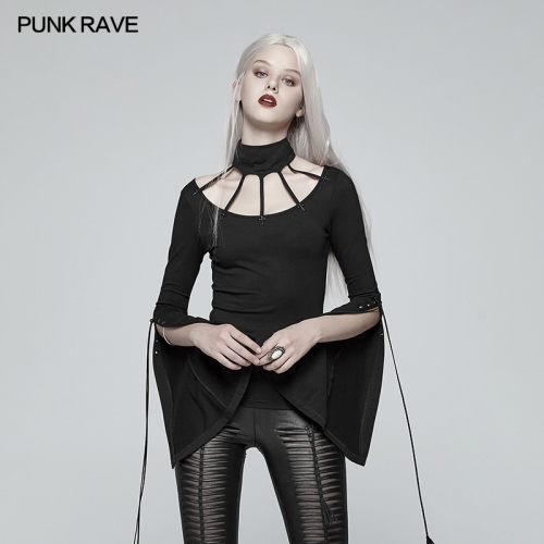 PUNK RAVE gothic women knit shirt WT-537TCF