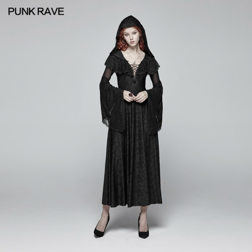 PUNK RAVE gothic women dress WQ-401LQF