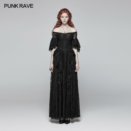 PUNK RAVE gothic women dress WQ-391LQF