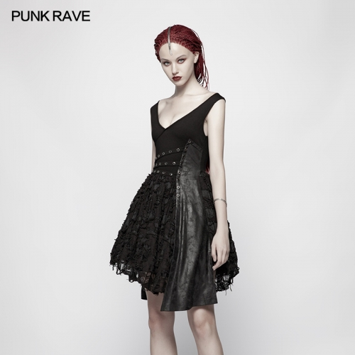 PUNK RAVE women dress WQ-384LQF