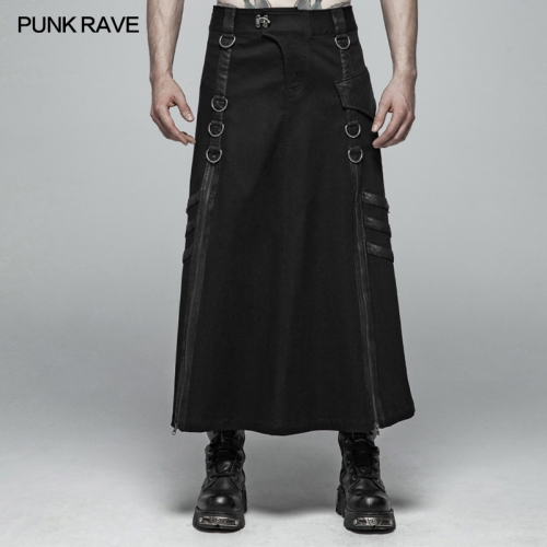 PUNK RAVE men skirt WQ-399BQM