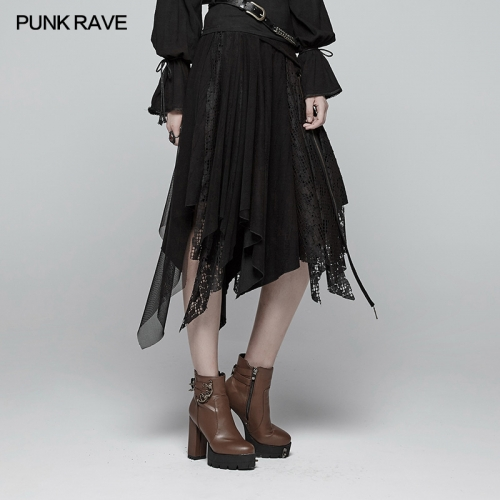 PUNK RAVE gothic women skirt WQ-381BQF