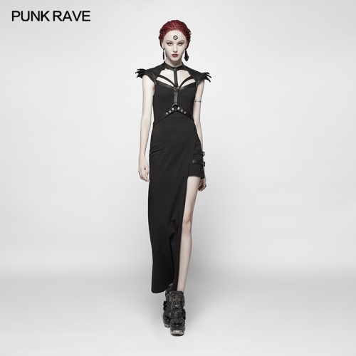 PUNK RAVE women dress WQ-377LQF