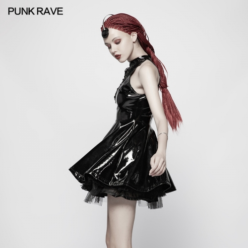 PUNK RAVE women dress WQ-374LQF