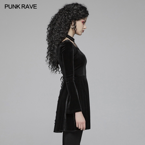 PUNK RAVE women autumn&winter dress OQ-410LQF