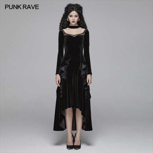 PUNK RAVE women autumn&winter dress OQ-417LQF