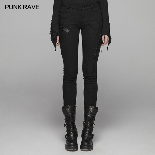 PUNK RAVE women autumn&winter trousers WK-345XCF