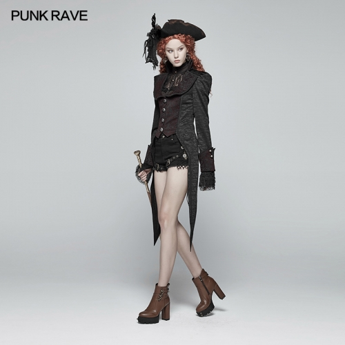 PUNK RAVE women gothic jacket WY-982LCF