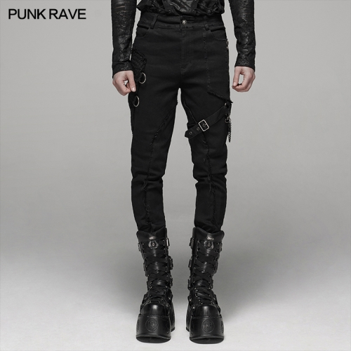 PUNK RAVE men trousers WK-388XCM