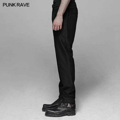 PUNK RAVE men gothic trousers WK-389XCM