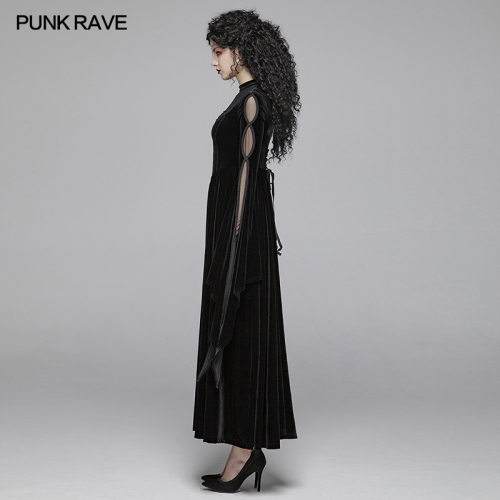 PUNK RAVE women gothic dress WQ-406LQF