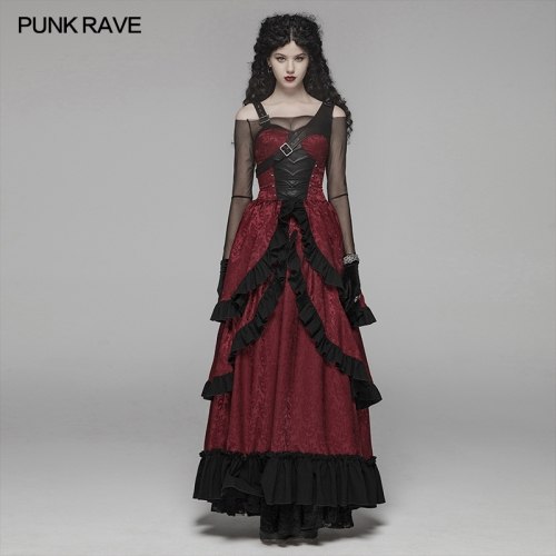 PUNK RAVE women dress WQ-408LQF