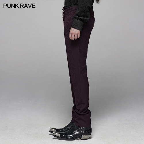 PUNK RAVE men gothic trousers WK-385XCM