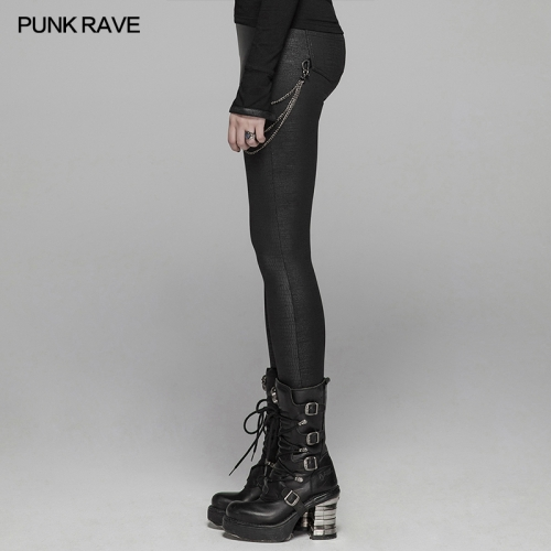 PUNK RAVE women trousers WK-375DDF