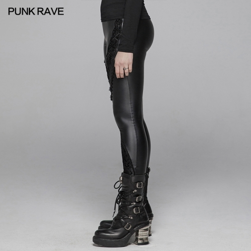 PUNK RAVE women gothic trousers WK-377DDF