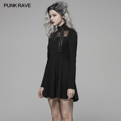 PUNK RAVE women dress WQ-415LQF