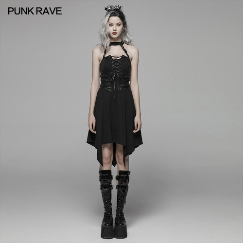 PUNK RAVE women dress WQ-411LQF