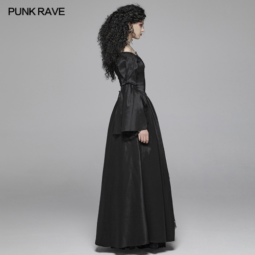 PUNK RAVE women gothic dress WQ-419LQF