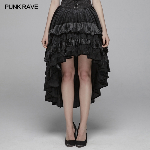 PUNK RAVE women gothic  skirt WQ-413BQF