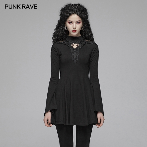 PUNK RAVE women gothic dress WQ-412LQF