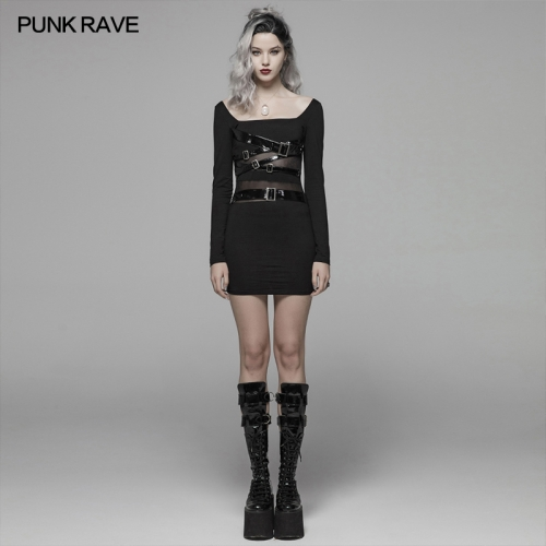 PUNK RAVE women dress WQ-425LQF
