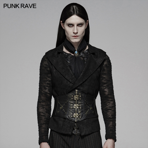 PUNK RAVE men belt WS-304YDM