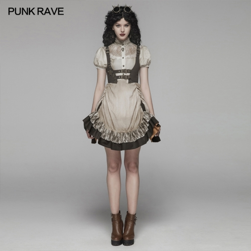 PUNK RAVE women dress WQ-424LQF