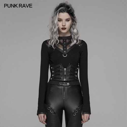 PUNK RAVE women military belt WS-306YDF