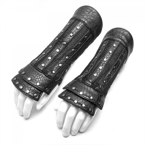 PUNK RAVE men chinese style glove WS-314SSM