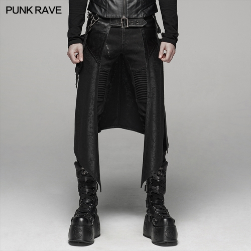 PUNK RAVE men m-skirt WQ-436BQM