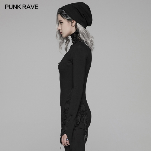 PUNK RAVE women gothic t-shirt WT-574TCF