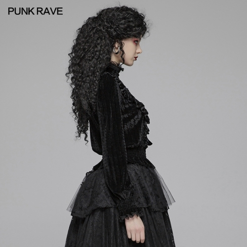 PUNK RAVE women gothic t-shirt WT-571TCF