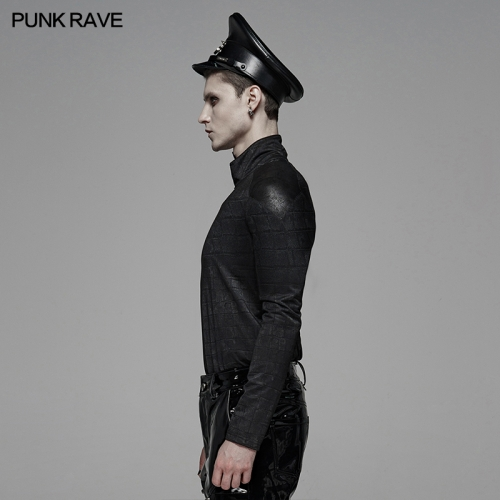 PUNK RAVE men t-shirt WT-579TCM