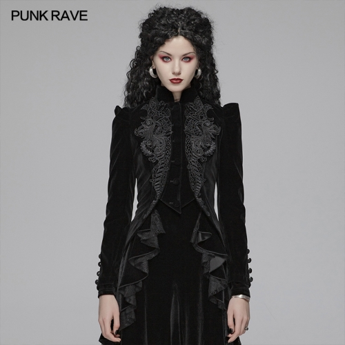 PUNK RAVE women gothic jacket WY-1045LDF
