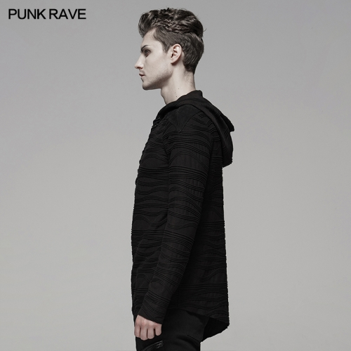 PUNK RAVE men fleece t-shirts WT-580WYM