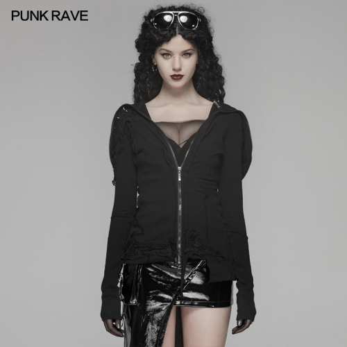 PUNK RAVE women fleece jackets WY-1108WYF
